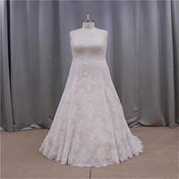 Romantic and rayal oem design used plus size wedding dresses