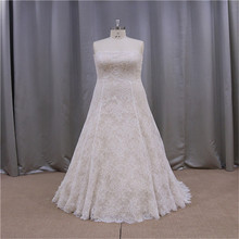 Romantic and rayal oem design used plus size wedding dresses