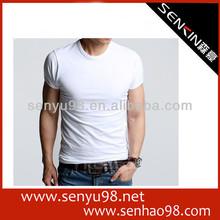 eco friendly new design popular men's promotional t-shirt