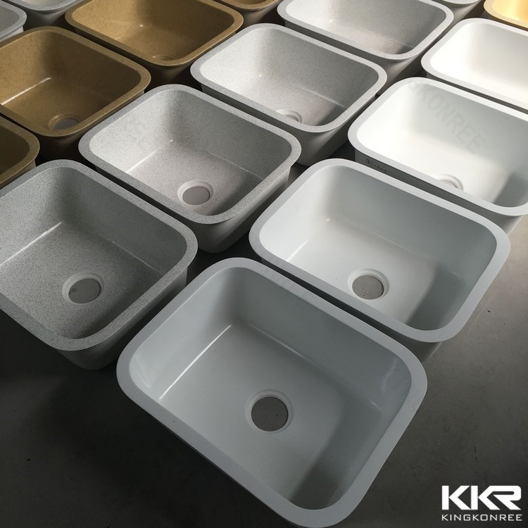 Custom Kitchen Sinks/ Solid Surface Sink/ Polyester Resin Sink - Buy ...