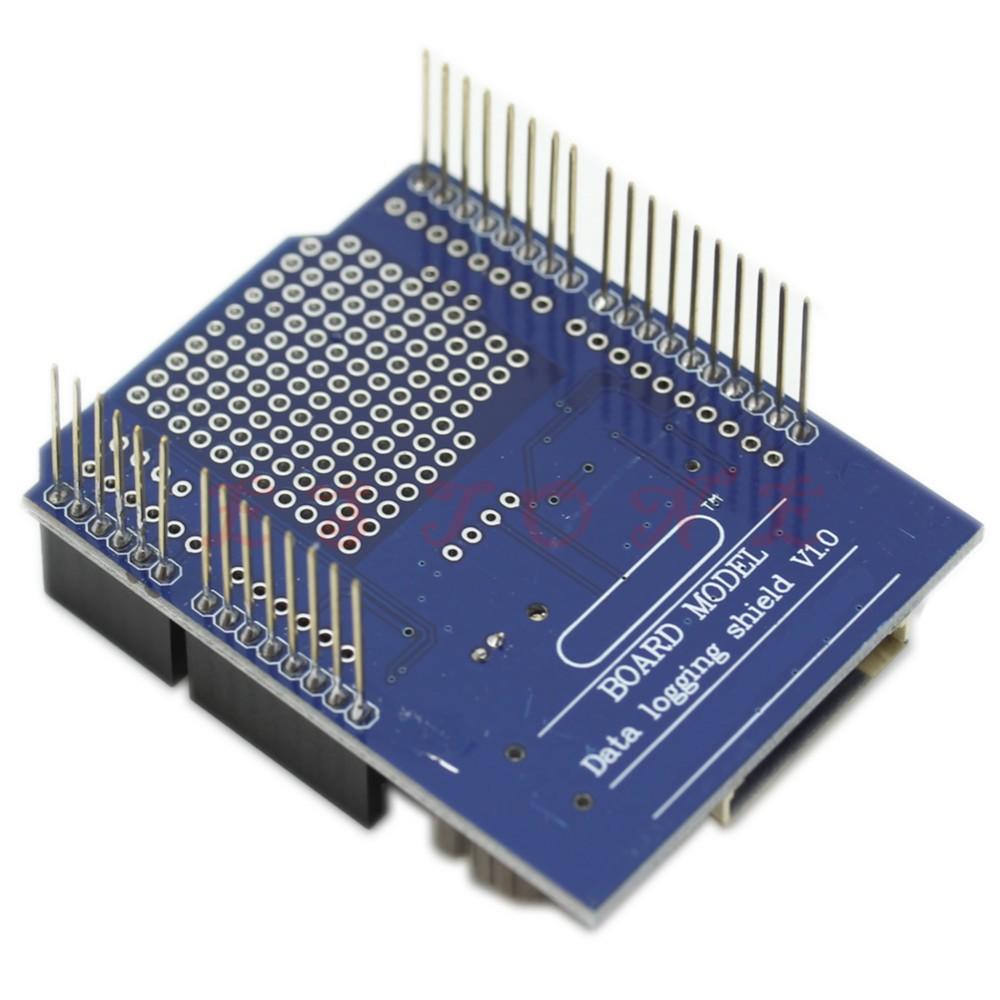 Log shield pour Arduino sur carte SD