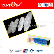 18 inch White PE Arm Protection Sleeves