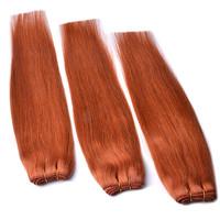 Brazilian Virgin Hair Straight 3 PCS Lots 100% Unprocessed Human Hair Weft Weave Free Shipping