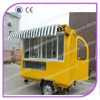 Fast food hamburgers carts food cart/Mobile Food Cart for sale
