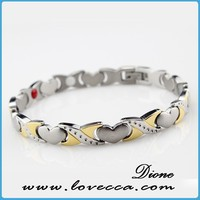 magnetic tungsten bracelet negative ion magnetic bracelet positive energy bracelets for sale