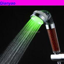 C-158-1LED ACS Cixi Qianyao wholesale bathroom using water saving medical shower head
