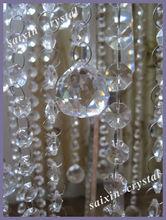 beautiful hunging crystal ball for wedding decotation