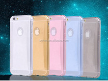 Hot sale custom glitter tpu gel phone case for iphone 6