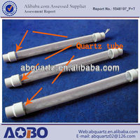 High-quality dielectric quartz tube for the ozone generator/quartz heating tube