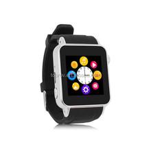 MTK6260 S69 bluetooth camera smart watch phone with micro sim card