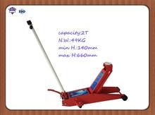 QK-2TL gato de piso hidráulico de 2 toneladas
