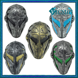 BLG-030 Yiwu Caddy War game combat halloween protective Templar mask for sale, fiberglass paintball masks