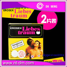 Stocks condom Natural rubber latex condom for delay condom ,keep long time for sexual 100% English package