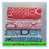 PVC zipper custom print round pencil case simple design