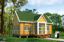 2014 New Arrival Outdoor waterproof cheap wooden home