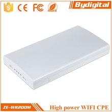 Bydigital 300Mbps 2.4g high power 3km outdoor wireless cpe /wireless AP/wireless bridge/client/router