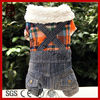 Soft Fashion Dog Suspenders Winter Dog clothes Pet Clothes