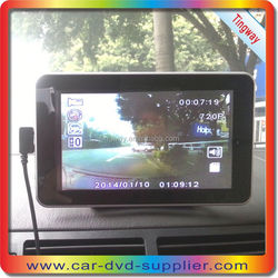"new industrial product ideas Android 4.4.2 GPS digital car camera recorder support reverse camera,MP3/MP4 player,7"" GPS"