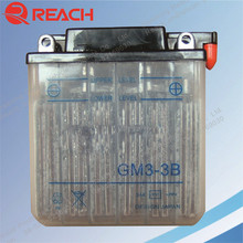 High Quality Strong Power of Motorcycle Battery 12V 3Ah GM3-3B Cheap Price