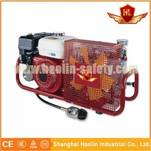 portable air compressor used for fire fighting , air compressor for refilling cylinders