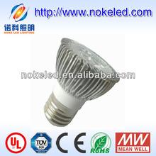 dimmable LED 4W mr16 halogen lamp spot light