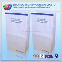 airsickness paper bag, paper bag with printing, heat sealing paper bag