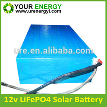 Deep Cycle 12v 100ah lifepo4 battery pack with 2000cycles lifepo4 12v 200ah battery pack12v 240ah system