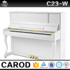 white children wooden mini upright piano with flexible piano keyboard