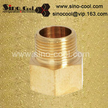 reduce female & male connector brass y fitting