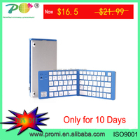 New Folding Mini Bluetooth Wireless Keyboard for iphone iPad-Android Tablet PC