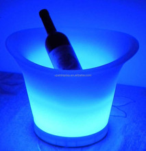 Illuminated Champagne Wine Cooler Rechargeable Led Ice Bucket
