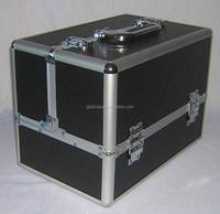 SB12121 Back aluminum beauty case makeup case cosmetic case