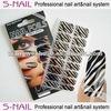 Zebra wrap nails / nail supplies (SNF067)