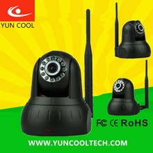 Support mobile view email alarm ,p2p PTZ Robot mini wireless camera