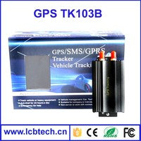 Top selling GSM/GPRS/GPS Vehicle car Mini gps Tracker TK103B with Remote Control