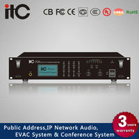 ITC T-6760 Series 60W/120W/240W/350W Class D IP Audio Amplifier for IP PA System