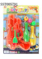 Funny Soft Air Guns, Bowling gun with water gun toy
