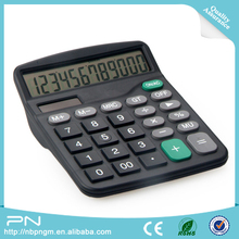 Hot selling Plastic Two Way Power Calculator, Office High Quality 12 Digit Calculator
