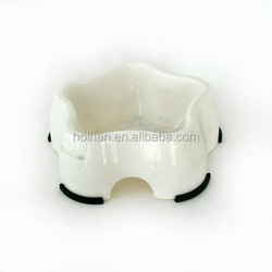 LOVELY STAR SHAPE DOG BOWL PUPPY FEEDING DISH BOWL PET DOG BOWL