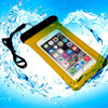 Promotional Clear Vinyl pvc Waterproof shell For iPhone and samsung