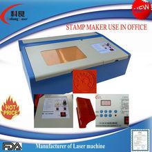 2014 brand new KL-XL210 laser stamp machine,mimi rubber stamp making machine