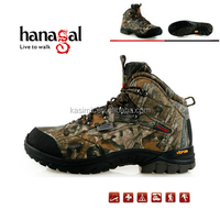 Hot sale waterproof camouflagel shoes sports shoes hunting boots camo shoes
