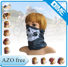 China Supplier Skull Face Bandana Custom For Motorcycle