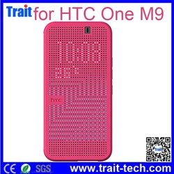 Smart Dot View Case for HTC One M9, for HTC One M9 Dot View Case