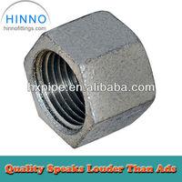 DIN screw iron cap for pipe line