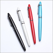Pointy head and heavy Standards business metal premium fountain pen with beautiful colors