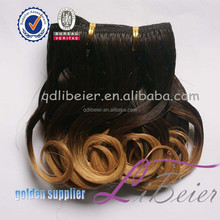 remy italian body wave hair two tone color remy human hair ombre remy hair weaving