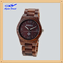 Good quality hot selling most fashion wood watch with wrist