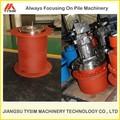 Cabrestante hidráulico reductor del engranaje wlt110w, excavadora de piezas de equipo accesorio, la construcción de herramientas para la construcción