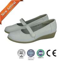 Clinic nurse shoes/white leather clinic nurse shoes
